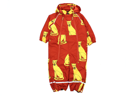 343d92e262d9 Buy Mini Rodini snowsuit Alaska cougars red at MilkyWalk