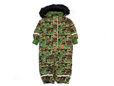 Mini Rodini snowsuit Kebnekaise camo green
