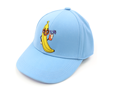 Mini Rodini cap banana light blue
