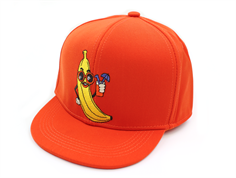 Mini Rodini cap banana red