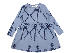 Mini Rodini dress blue skeleton