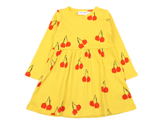 Mini Rodini dress cherry yellow