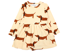 Mini Rodini dress dog beige