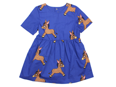 Mini Rodini dress donkey blue