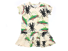 Mini Rodini dress insects off white