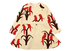 Mini Rodini dress parrot red
