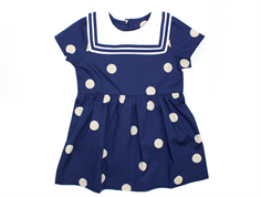 Mini Rodini dress sailor navy