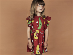 Mini Rodini dress veggie red