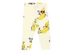 Mini Rodini leggings banana off-white