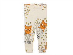 Mini Rodini leggings cat advice beige