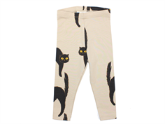 Mini Rodini leggings catz light gray