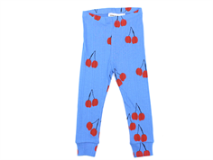 Mini Rodini leggings cherry blue