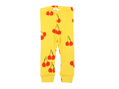 Mini Rodini leggings cherry yellow