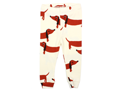 Mini Rodini leggings dog off-white
