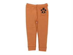 Mini Rodini leggings panda brown wool