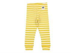 Mini Rodini leggings rib yellow stripe