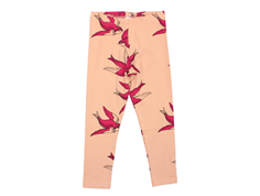 Mini Rodini leggings pink swallows