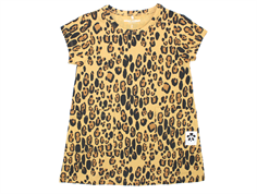 Mini Rodini leopard dress beige