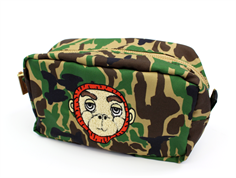 Mini Rodini pencil case camo green
