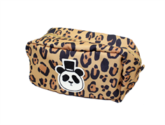 Mini Rodini pencil case panda beige