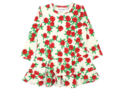 Mini Rodini rose dress off-white