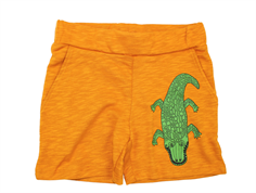 Mini Rodini sweat shorts CROCCO brown