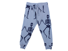 Mini Rodini pants blue skeleton