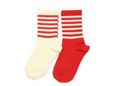 Mini Rodini socks red (2-Pack)