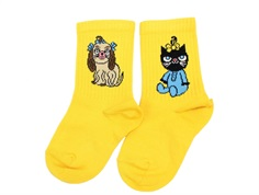 Mini Rodini socks yellow