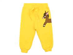 Mini Rodini sweatpants donkey yellow