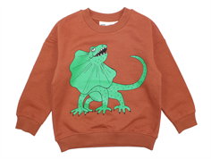 Mini Rodini sweatshirt draco brown