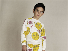 Mini Rodini sweatshirt moon off-white