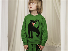 Mini Rodini sweatshirt panther green