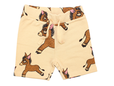 Mini Rodini sweat shorts donkey beige