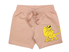 Mini Rodini sweat shorts draco beige