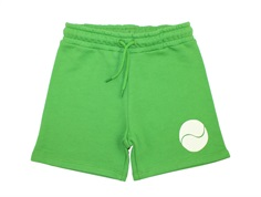 Mini Rodini sweat shorts game green