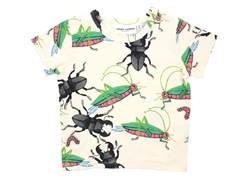 Mini Rodini t-shirt insects off white