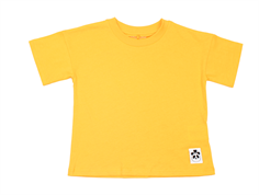 Mini Rodini t-shirt Solid yellow