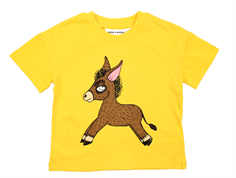 Mini Rodini t-shirt donkey yellow
