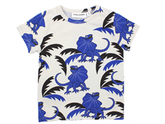 Mini Rodini t-shirt draco blue lizards
