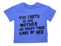 Mini Rodini t-shirt mother earth blue