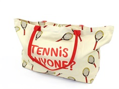 Mini Rodini bag/shopper tennis off-white