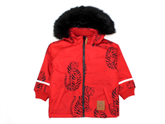 Mini Rodini winter jacket parka tiger red