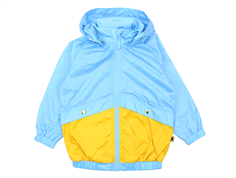 Mini Rodini windbreaker jacket light blue
