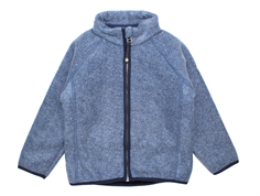 Mini a Ture Cedric fleece jacket mood indigo