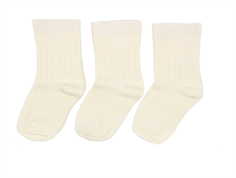 Minipop stockings cream (3-pack)