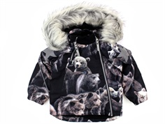 Molo winter jacket Hopla teddy faux fur