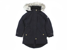 Molo winter jacket Peace black faux fur