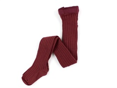MP tights cotton bordeaux
