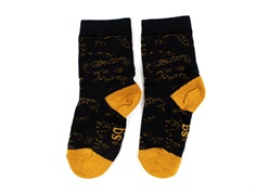 MP/Soft Gallery socks cotton jet black flowerdust (2-Pack)
